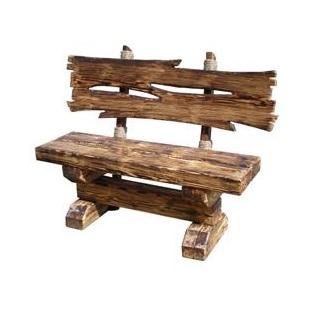 Скамейка садовая деревянная