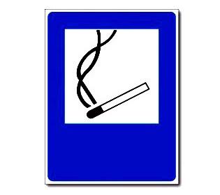 """Наклейка """"Курить здесь"""""""