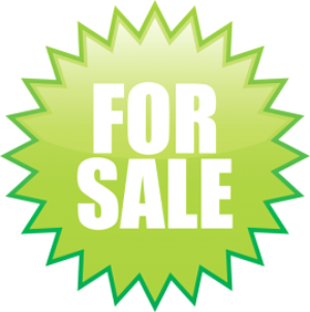 "Наклейка ""For sale"""