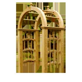 Пергола арка для дачи