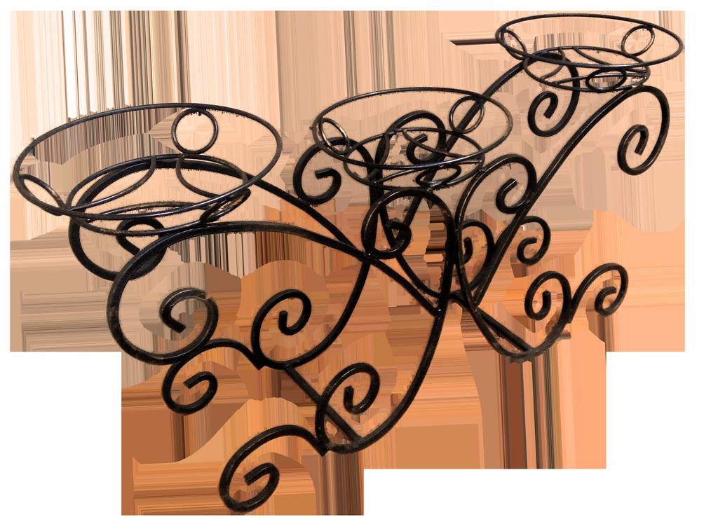 барбарийская картинки кованых цветочниц ветер