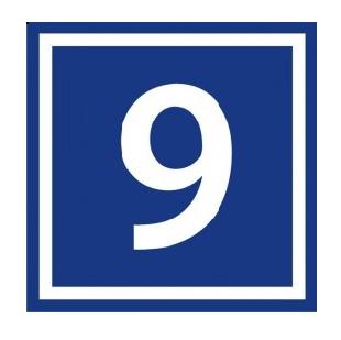 Табличка с номером дома 45х45
