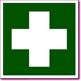 """Табличка """"Аптечка первой медицинской помощи"""""""