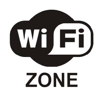 "Наклейка ""Wi-Fi зона"""