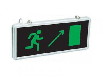 Эвакуационный выход направо вверх