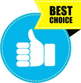 """Наклейка """"Best choice"""""""