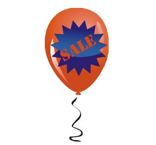 "Наклейка шарик ""sale"""