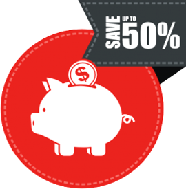 Наклейка SALE 50%