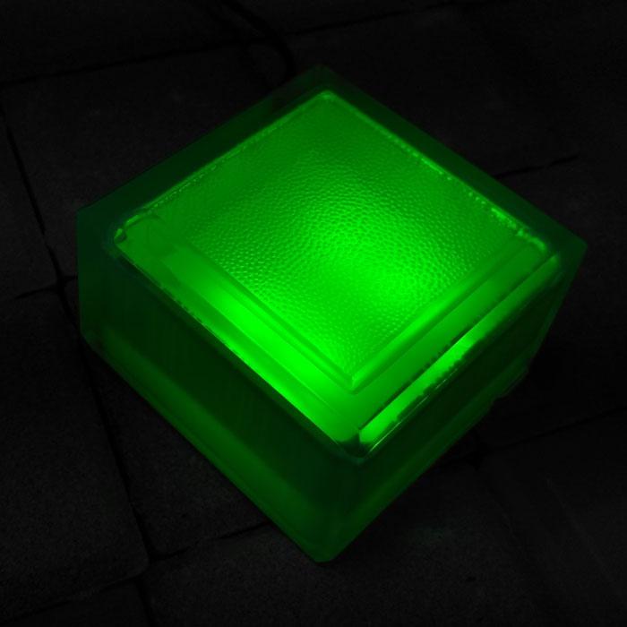 Садовая плитка 100х100х60 зеленая
