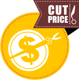 "Наклейка ""cut price"""
